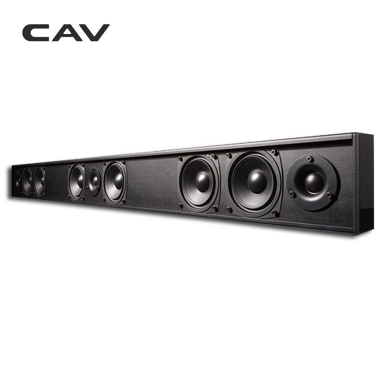 CAV AL210 Passive Speaker Soundbar Column Wired 3.0 Channel Two-Way Home Theater Passive Speakers Professinal TV Speaker Cinema