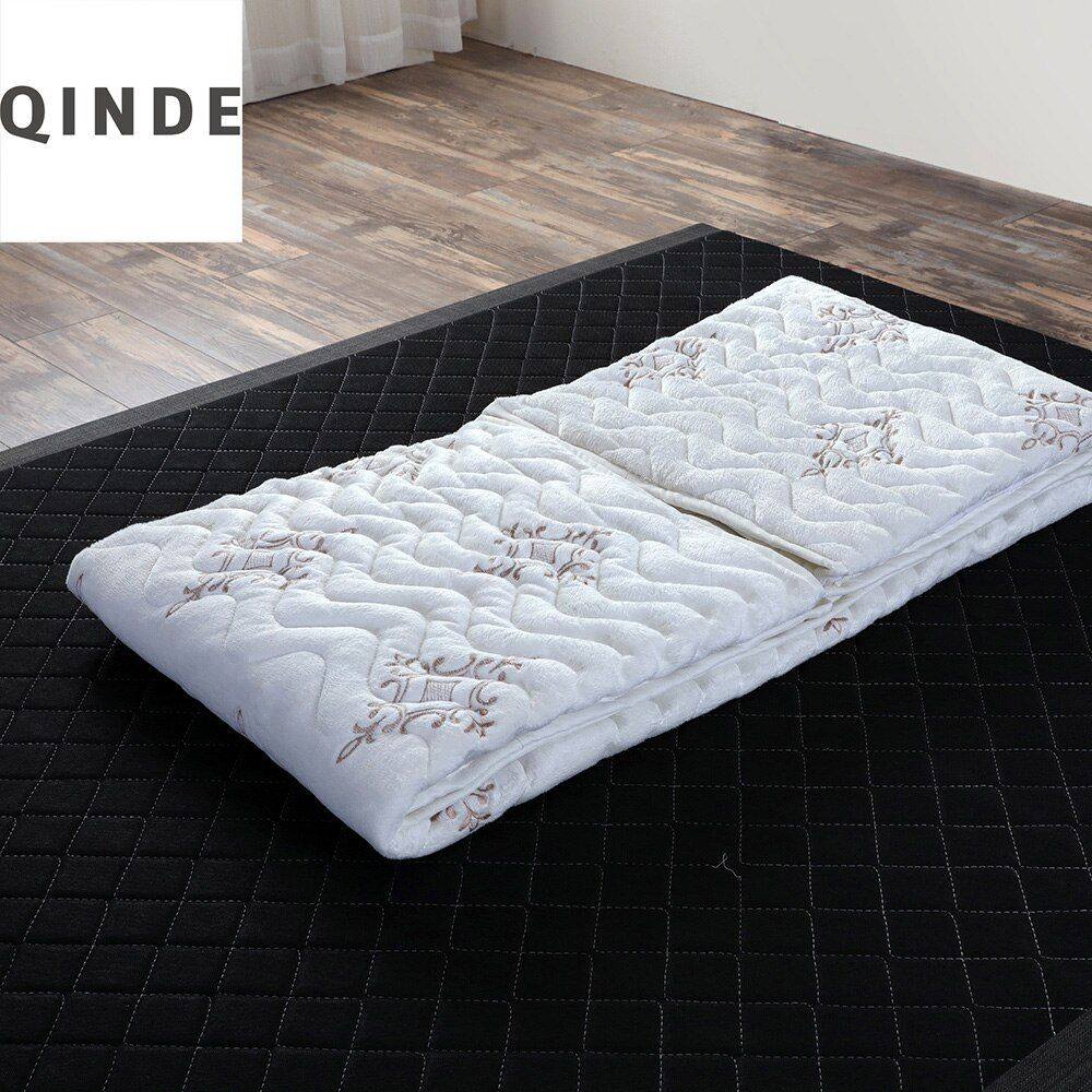 Hot Factory Mattres Top Grade Sheared Fleece Cover Comfortable And Washable Mattress Topper Protector For Home Dormitory TB03