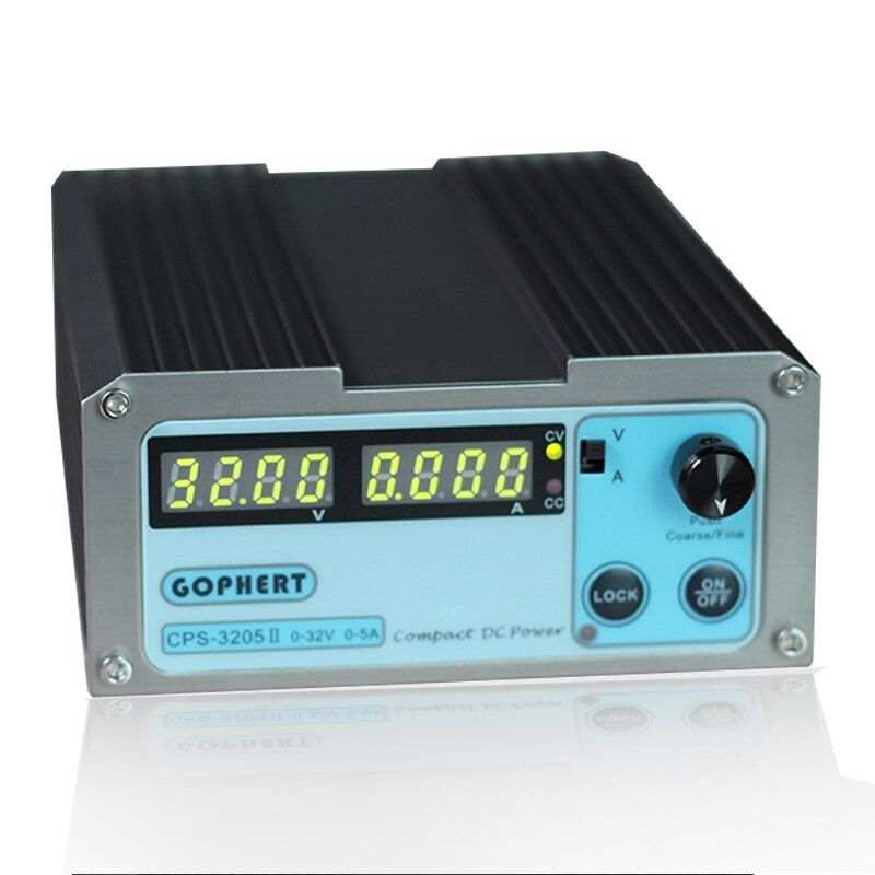 CPS-3205II Wholesale precision <font><b>Compact</b></font> Digital Adjustable DC Power Supply OVP OCP OTP low power 32V5A 110V-230V DC power supply
