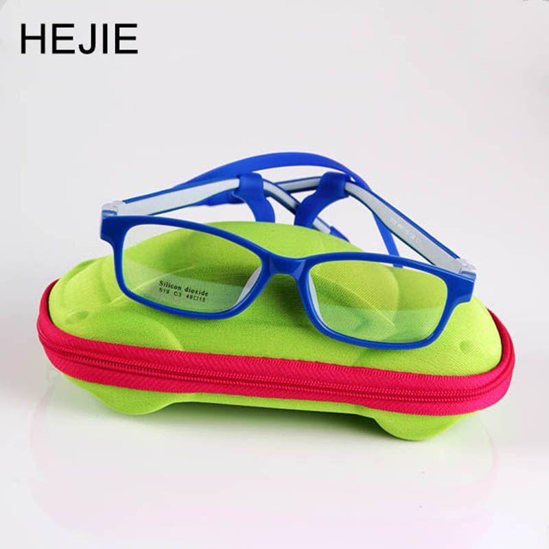 Классические детские безопасные силиконовые прозрачные линзы оптических Оправы для очков не винт ломкий Обувь для мальчиков Обувь для дев...