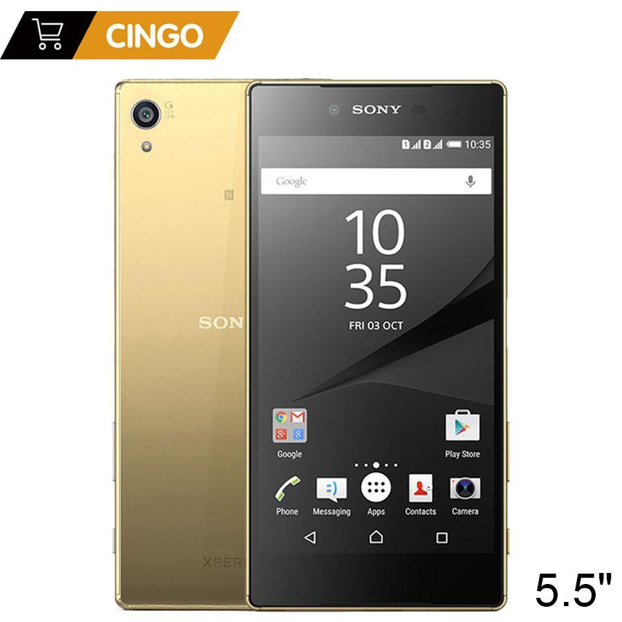 Original Entsperrt Sony Xperia Z5 Premium E6853 4G LTE Einzelne SIM 3 GB RAM 32 GB ROM 5,5