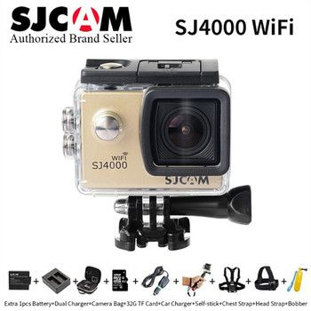 SJCAM series SJ4000&SJ4000wifi Action Camera Diving 30M Waterproof Camera 1080P Full HD 170 Degree Full HD Mini Helmet Camcorder