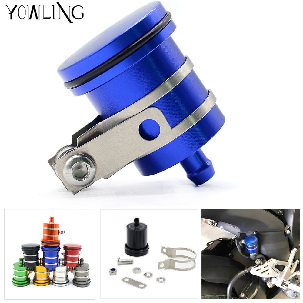 Motorcycle Oil Cup Brake Fluid Reservoir for Suzuki GSXR 600 750 1000 1300 Sv650 B-king TL1000 DL650 DL1000 GSX 650F 750F Sv650