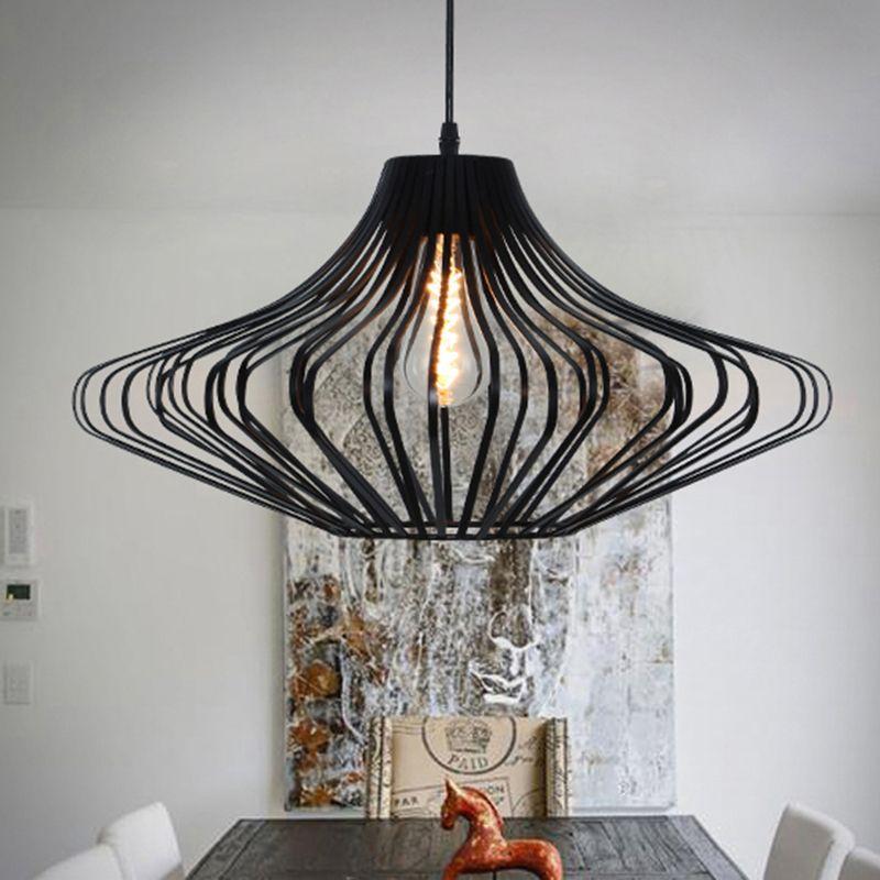 Loft Vintage Pendant Lamp Aluminum Iron Retro lighting fixtures Industrial Style lamparas de techo vintage Edison Pendant Lights