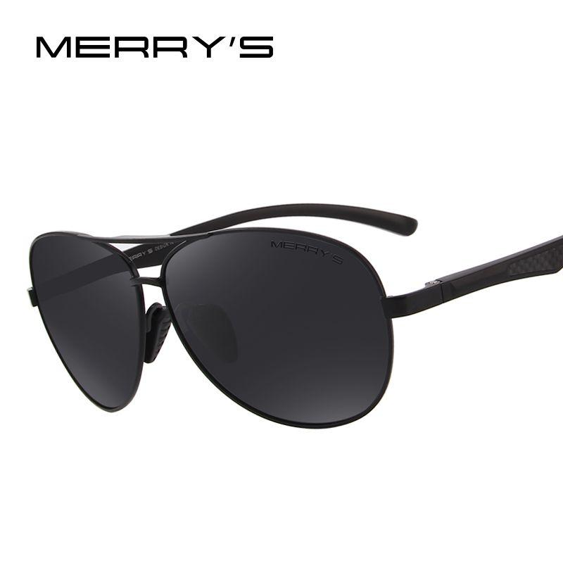 Merry's Для мужчин пилот Солнцезащитные очки для женщин HD поляризованные Очки бренд поляризованные Солнцезащитные очки для женщин s'8228
