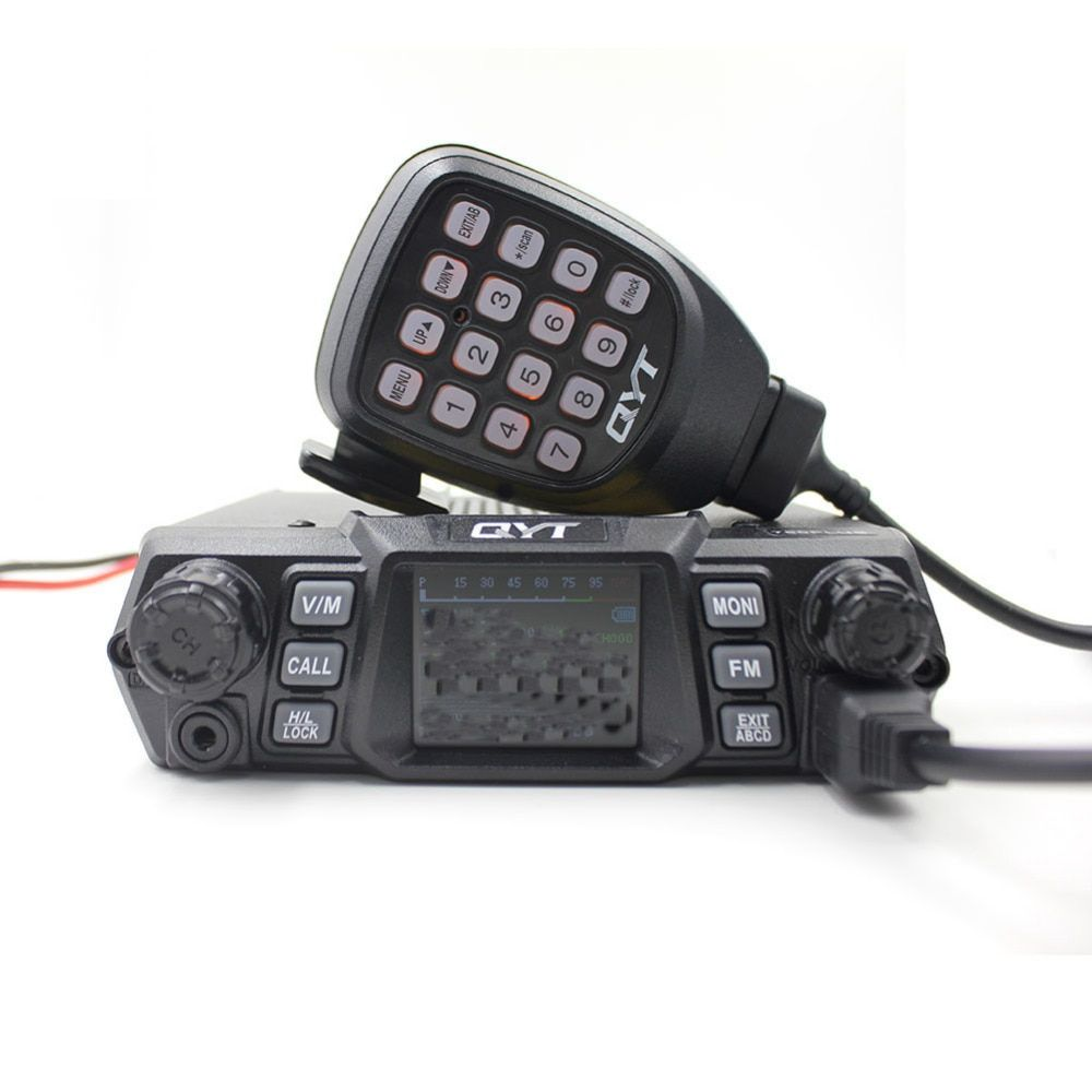 100 Watts Super High Power QYT KT-780Plus UHF 400-470mhz Car Radio/Mobile Transceiver KT780 200channels Long range communication