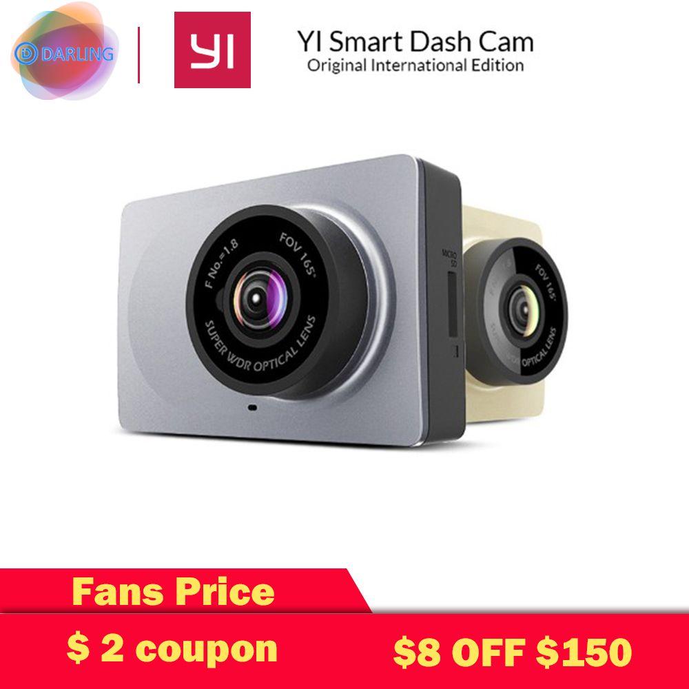[Édition internationale] Xiaomi YI Smart dvr de voiture 165 Degrés 2.7 Dash Caméra 1080 P 60fps ADAS Sûr Rappel WIFI Dashcam