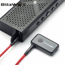 Blitzwolf Bluetooth V4.1 автомобиля громкой музыки приемник 3.5 мм AUX аудио адаптер