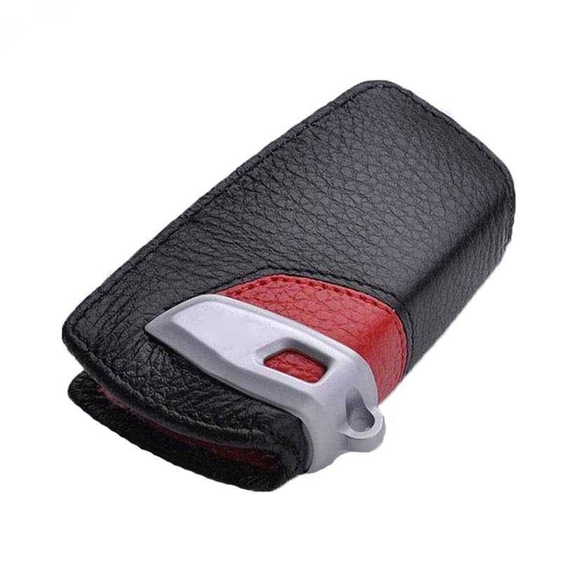 Leather car Key Case Cover holder For BMW G30 F30 F48 F20 F15 F16 1 2 3 4 5 6 7 Series X1 X3 X4 X5 X6 G30 Z4 For M Performance