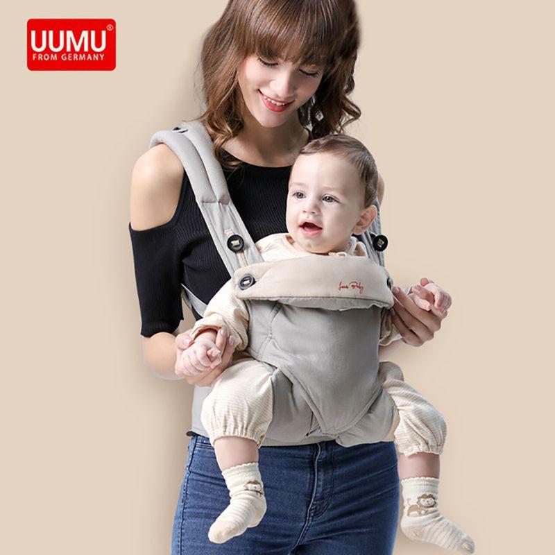 Ergonomic UUMU Baby Carrier sling Breathable baby kangaroo hipseat backpacks & carriers Multifunction backpack sling