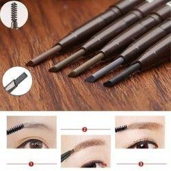 5 Couleurs Beauté Femmes Waterproof Eye Brow Noir Brun Eye Liner Crayon À Sourcils Avec une Brosse Longue Durée Maquillage Cosmétique Outils stylo