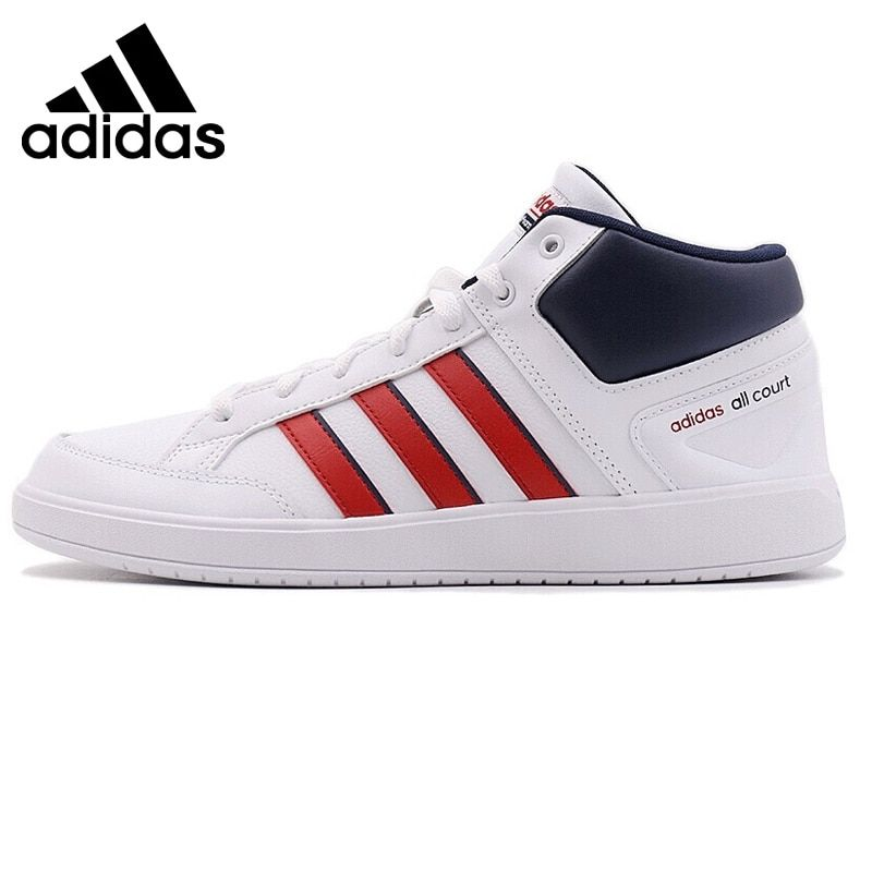 Original New Arrival 2018 Adidas CF ALL COURT MID Men's Tennis Shoes Sneakers