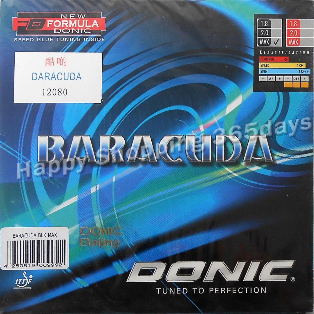 Donic BARACUDA 12080 # zacken-im tischtennis pingpong gummi mit schwamm