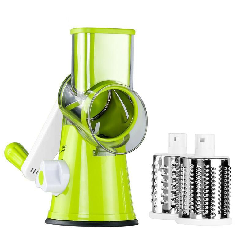 Mandoline Vegetable Slicer Carrot Grater Julienne Vegetable Chopper Onion Cutter with 3 Blades Kitchen Accessories Cooking Tools