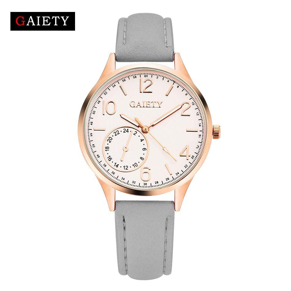 Leather Bracelet Watch Wristwatch Women Fashion Luxury Watches Quartz Leather Strap Women Casual Classic Watch For Ladies G020