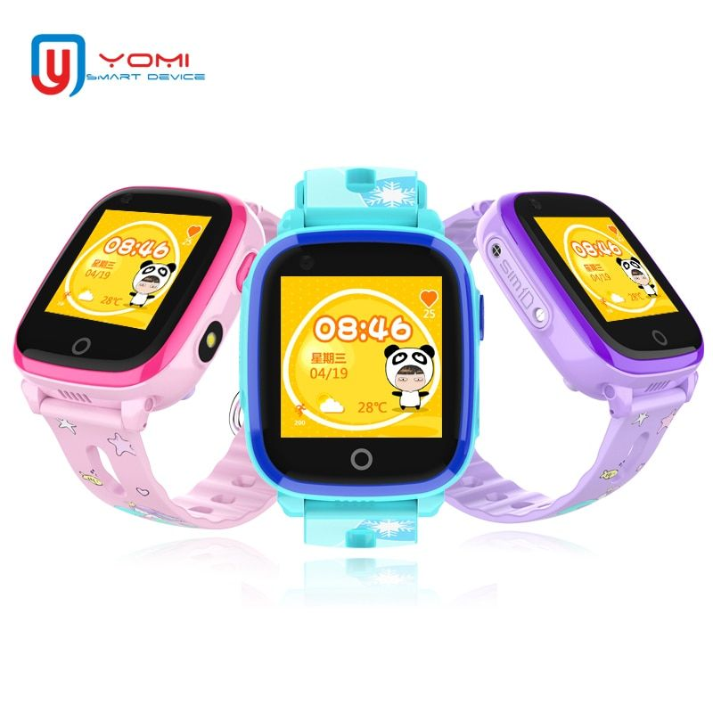 4G Smart Watch for Child IP67 Waterproof GPS WIFI Postioning SOS Wechat Remote Monitor Smartwatch with Camera Support SIM card