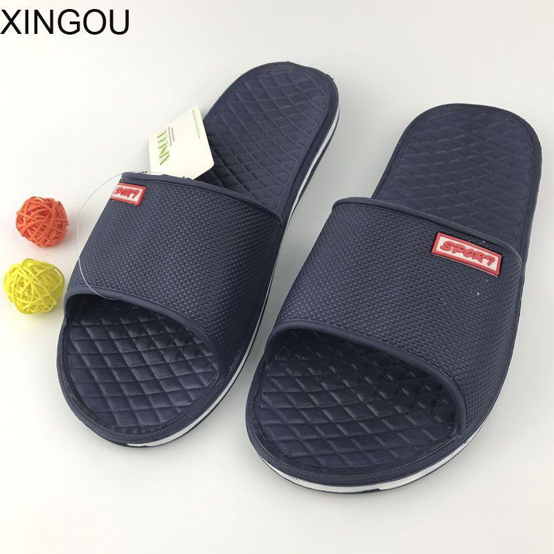 ¡ CALIENTE! nueva EVA zapatillas de verano en casa de interior del piso interior sandalias planas y zapatillas zapatillas de baño antideslizante suelas de Diapositivas