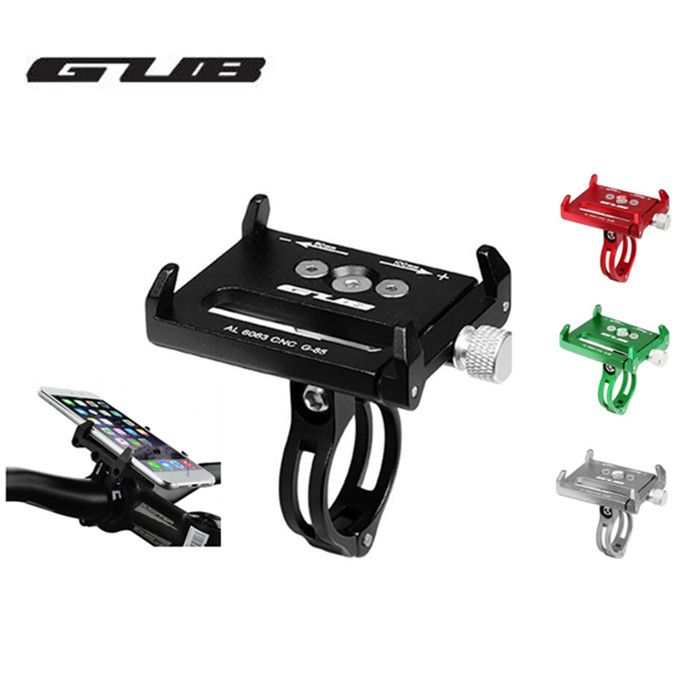 GUB bike moiblephone holder G85 mount bracket smartphone aluminum tight metal MTB bicycle for samsung huawei xiaomi iphone