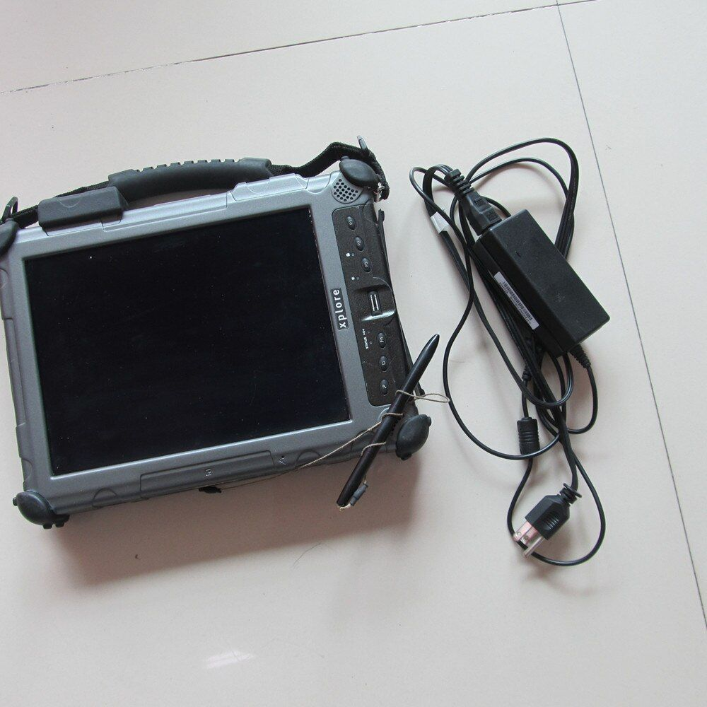 2018 New Auto Diagnostic Computer Xplore ix104 C5 tablet (4g,i7) 240GB MINI SSD can work with MB Star C4 and for BMW ICOM A2 B C