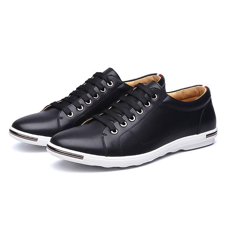LAKESHI New 2018 Men Shoes Brand Flat Shoes Men Fashion Male Shoes Summer Footwear Comfortable Men Casual Shoes