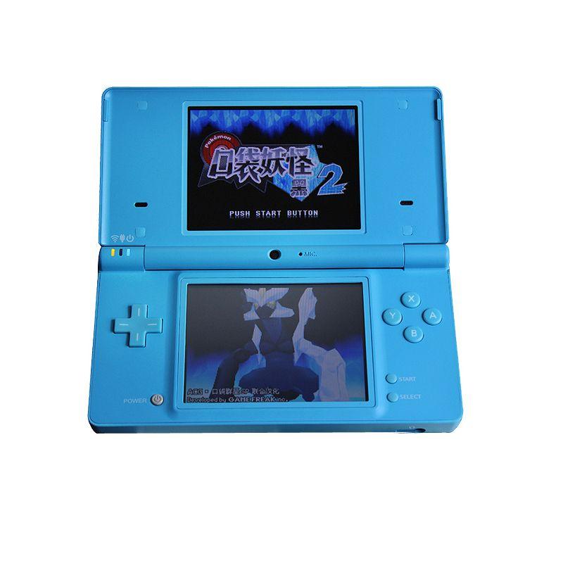 Jeu portable 3 pouces écran tactile LCD affiche 4 voies clavier croisé système polaire et jeux Console Bundle chargeur et stylet pour NDSi