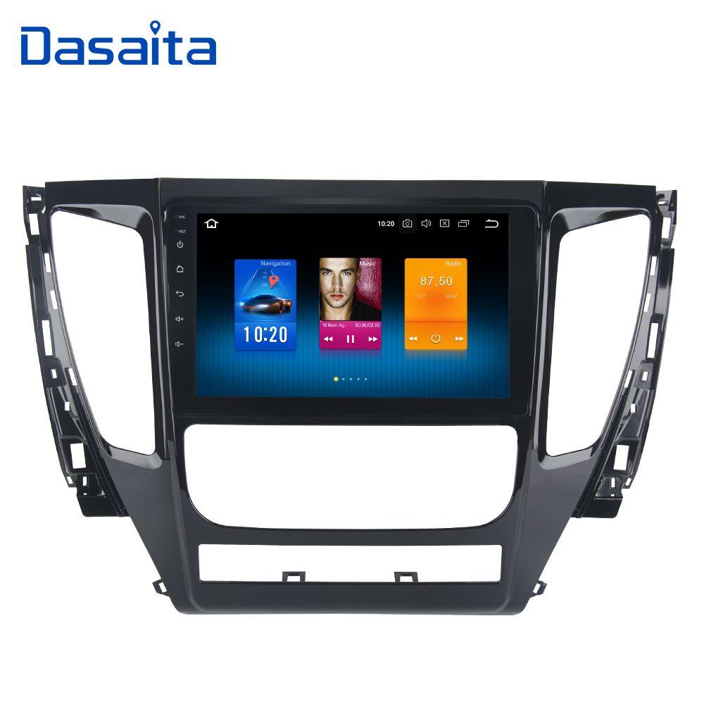 Dasaita 9 Android 8.0 Auto GPS Radio Player für Mitsubishi Pajero Sport 2017 mit Octa Core 4 gb + 32 gb Auto Stereo Multimedia
