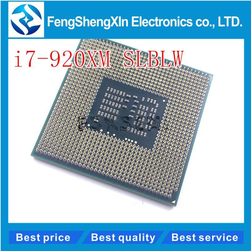 I7-920XM CPU SLBLW Processeur Extreme Edition 8 M 2.00-3.20 GHz Ordinateur Portable CPU I7 920XM