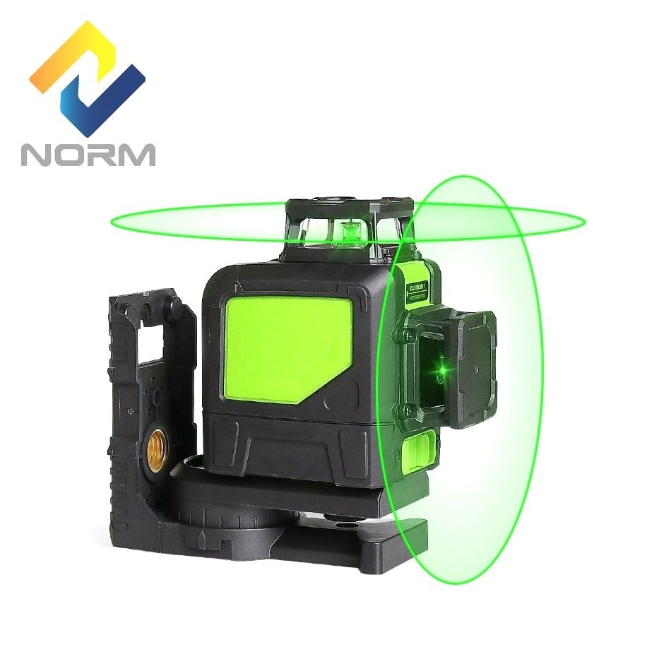 Norm Portable 8 Lines laser level Red Beam or Green Beam Laser Auto-Leveling Laser with magnetic holder