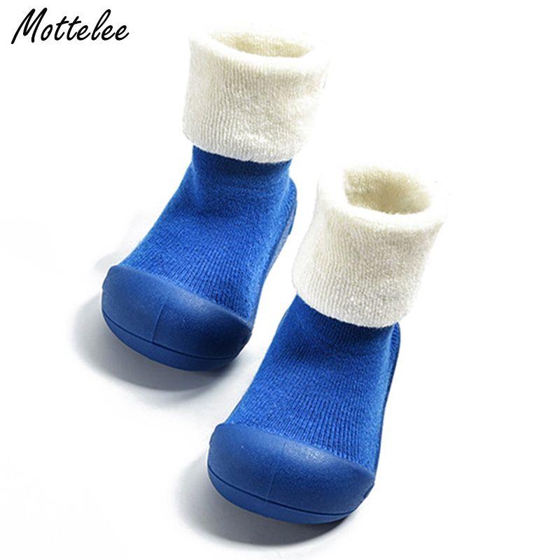 Толще для маленьких мальчиков Обувь для девочек первых шагов детей обещаем много интересного же дизайн против скольжения обуви малыша ново...