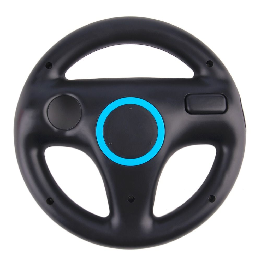 Game Racing Steering Wheel for Nintendo Wii Kart Remote Controller console