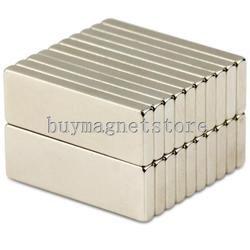 50 piezas N35 granel Super fuerte de Gaza barra bloque largas imanes de tierras raras de neodimio 30mm x 10mm x 3mm 30*10*3