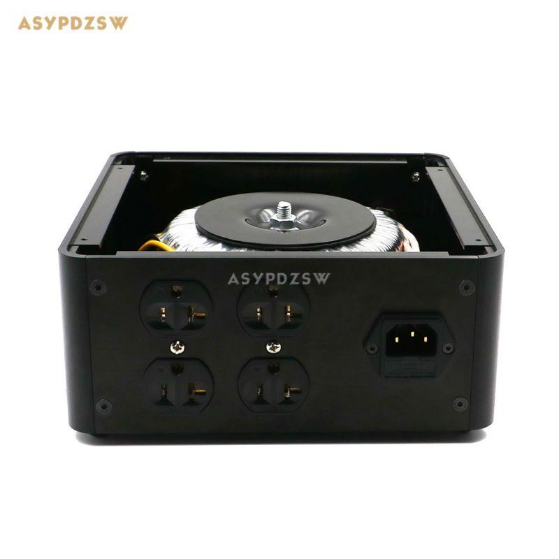 Transformateur d'isolement équilibré toroïdal u.s. 500VA 500 W processeur d'alimentation à isolation ca avec 4 prises de courant