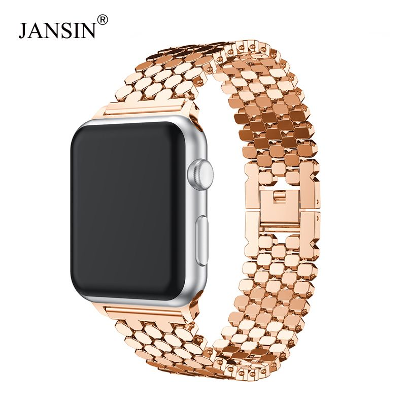 For Apple Watch Band 38mm 42mm 40mm 44mm Stainless Steel strap link Bracelet watch Strap for iWatch Bands series 4 3 2 1