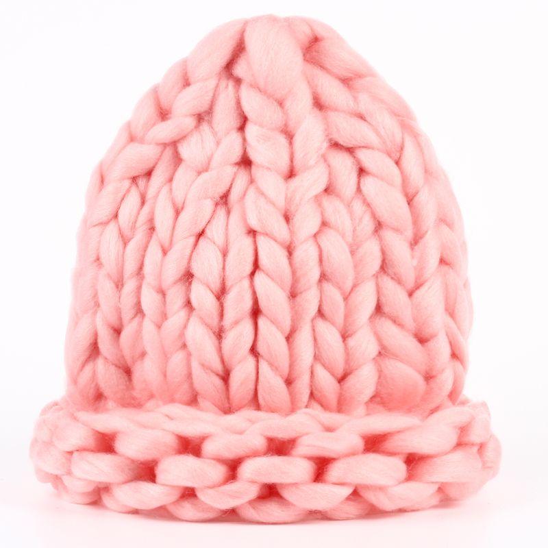 VORON Nerz kappe Europen winter hut Unisex Mode hut strickmütze Crochet Knochen caps neue verdickung frau Hüte warm Gorros