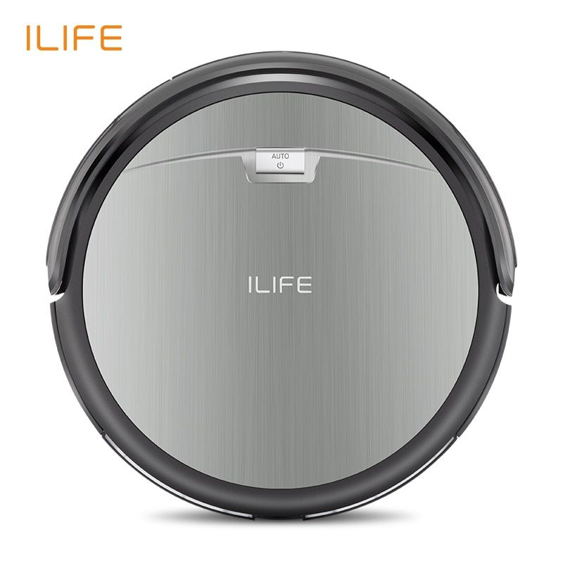 ILIFE A4s Robot Vacuum <font><b>Cleaner</b></font> with Anti-collision Anti-fall Auto Charge for Thin Carpet and Floor