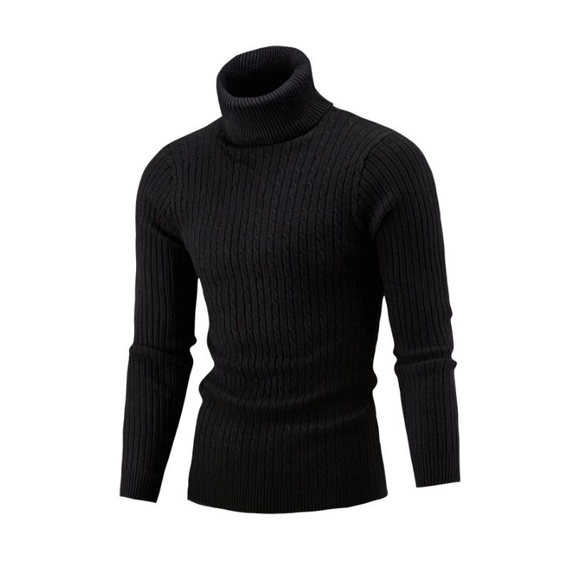 NEW 2017 Winter Mens  Fashion  Sweaters and Pullovers Men Brand Sweater Male Outerwear Jumper Knitted Turtleneck Sweaters M-XXL