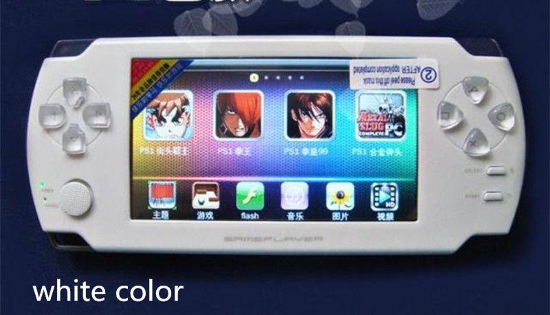 8 GB Hohe Qualität MP4 Mp5 4,3 Zoll Touchscreen Pmp-handspiel-spieler S431 Video FM Kamera Tragbare Spiel konsole