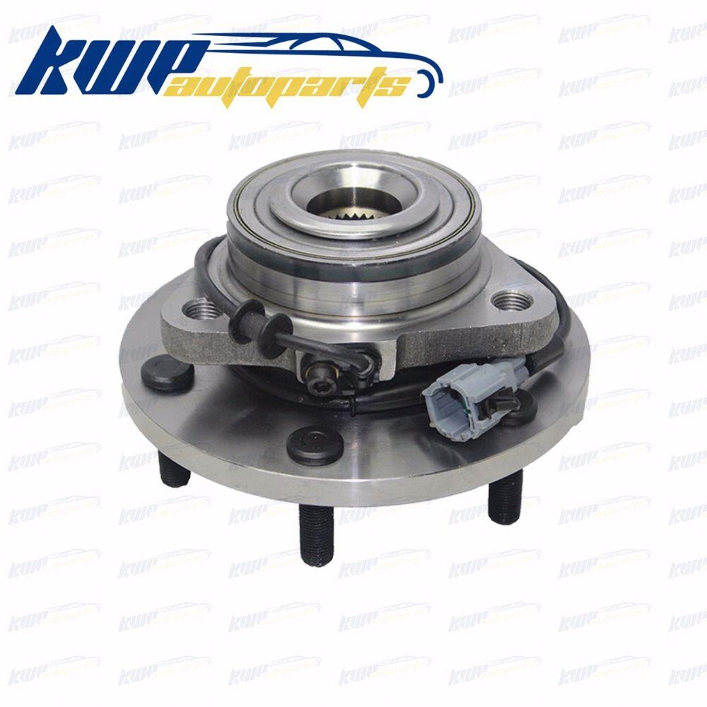 Front Wheel Bearing Hubs for Nissan Navara D40 D22 R51 Xterra Frontier Pathfiner ABS #40202-ZP90A 40202-EA300