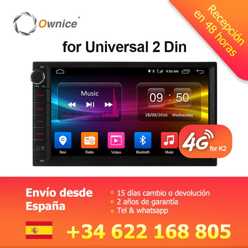 Ownice C500 G10 Android 6.0 Octa 8 core Radio 2 din universal car radio Player GPS no dvd support 4G LTE Network DAB+ TPMS