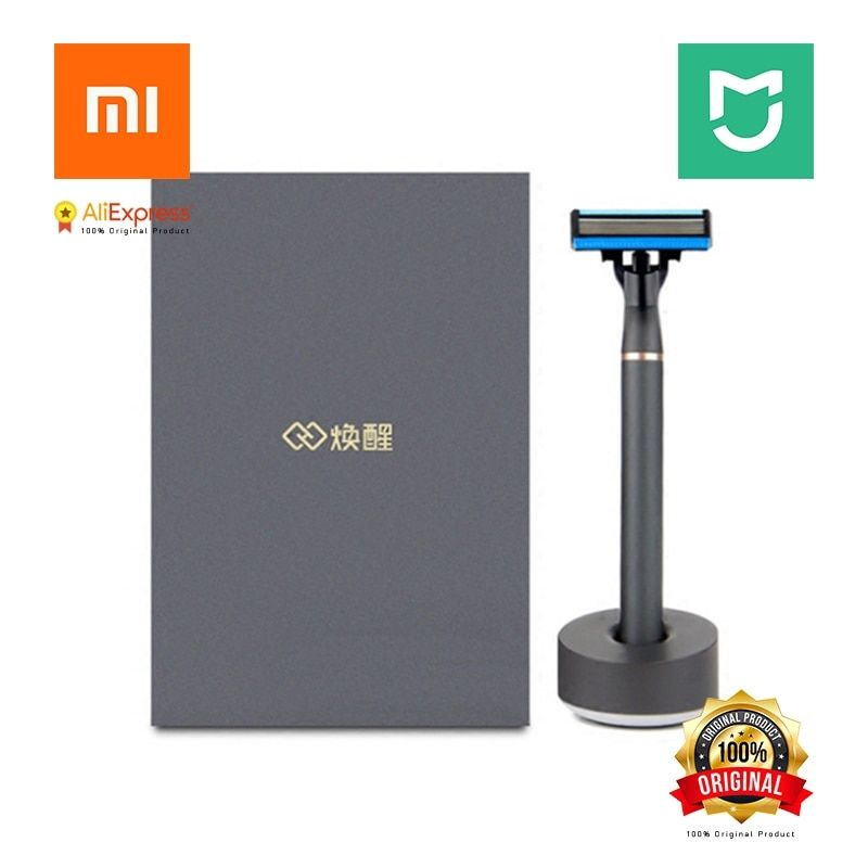 Shaver Xiaomi H600 Stand Trimmer Blades Foam 6 Blades German Production Set Razor 3 in 1 8 in 1 From Xiaomi Youpin Shaver H600