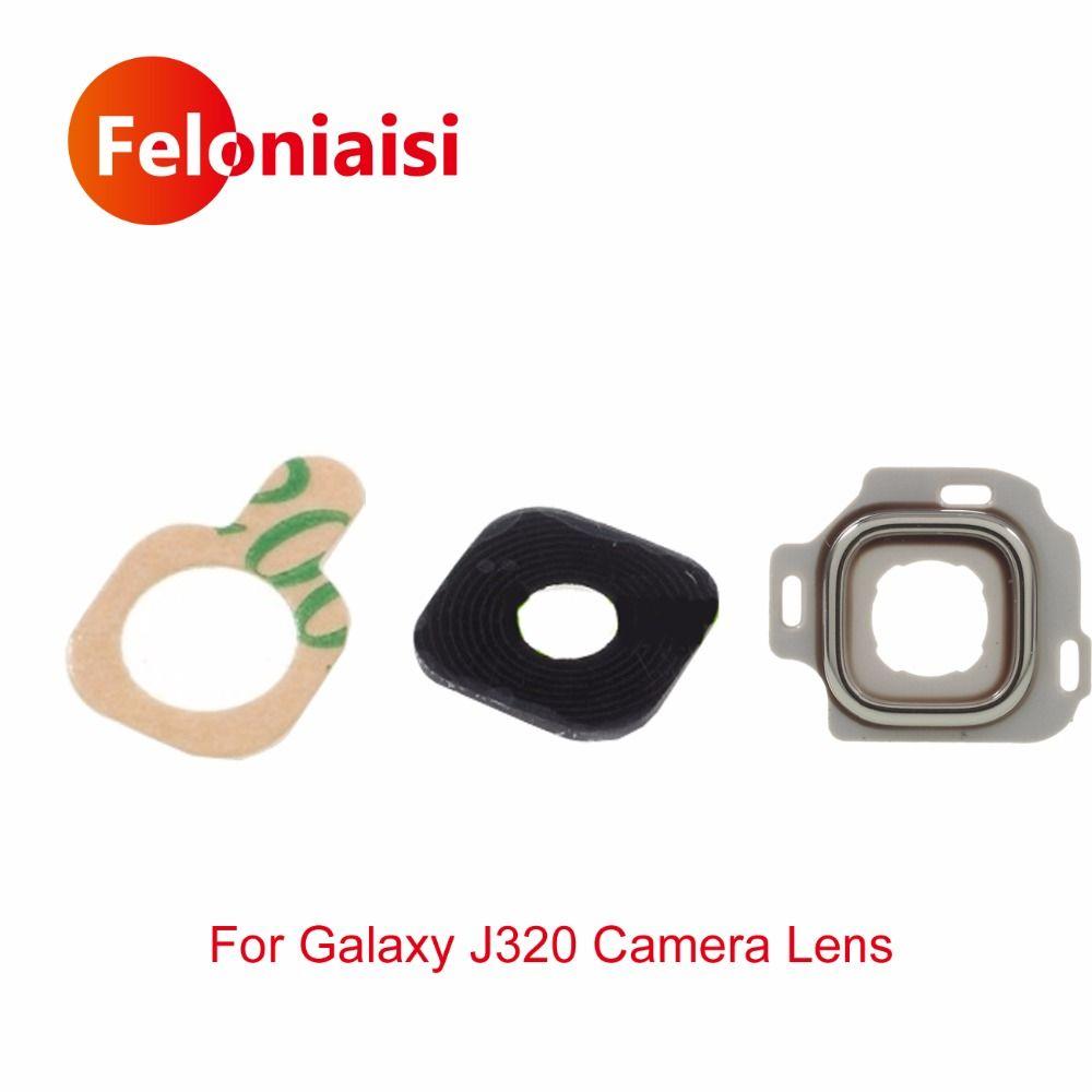 Hohe Qualität Hinten Zurück Kamera Für Samsung Galaxy J3 2016 J320 J320F Kamera Glaslinse