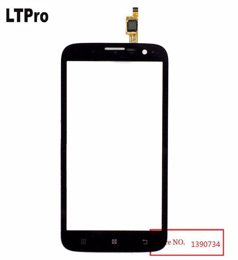 LTPro Meilleur de Travail Noir numériseur à écran tactile Pour Lenovo A859 téléphone portable Avant écran en verre Objectif pièces de rechange