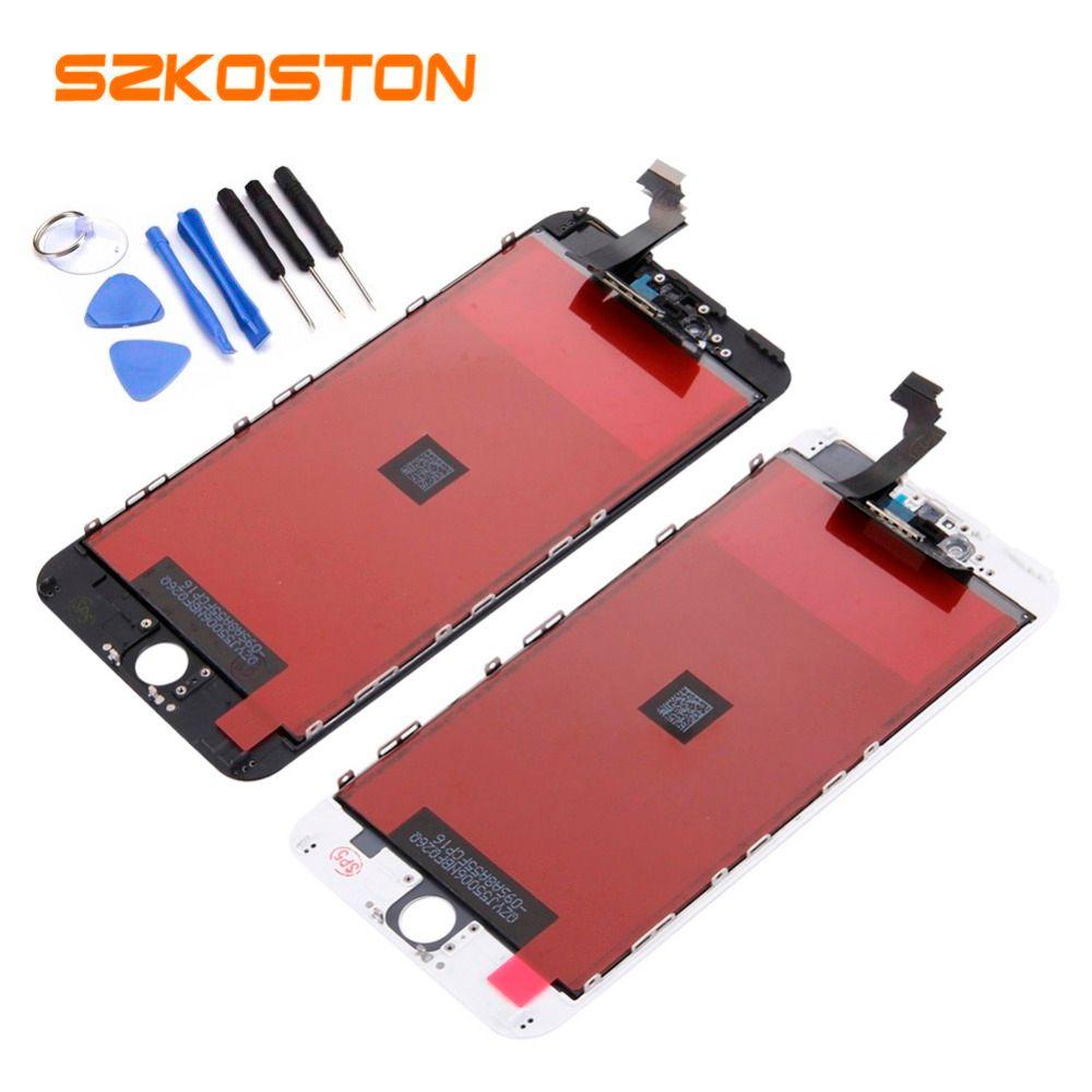 Qualité d'origine SZKOSTON écran LCD pour iPhone5 6 6plus LCD affichage complet écran tactile numériseur assemblée remplacement