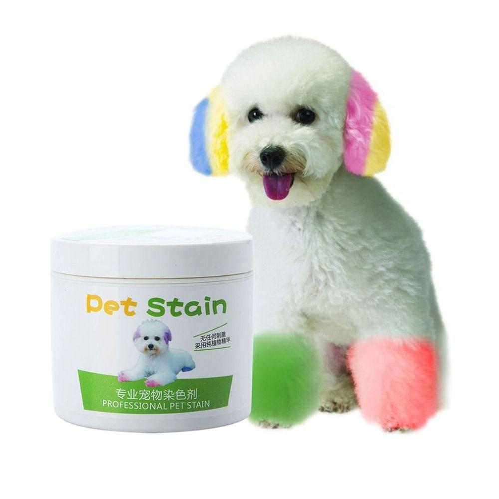 NEUE Leistung Haar Dye Gel für Hunde professional pet haar creme haar farbe ungiftig DIY färben wachs 3,51 unze/100 ml DROP SCHIFF