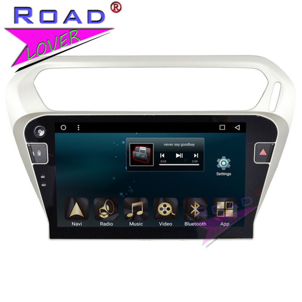 TOPNAVI 2G+32GB Android 7.1 Octa Core Car Head Unit Player For Citroen C-Elysee 2014/Peugeot 301 2014 Stereo GPS Navigation 2Din