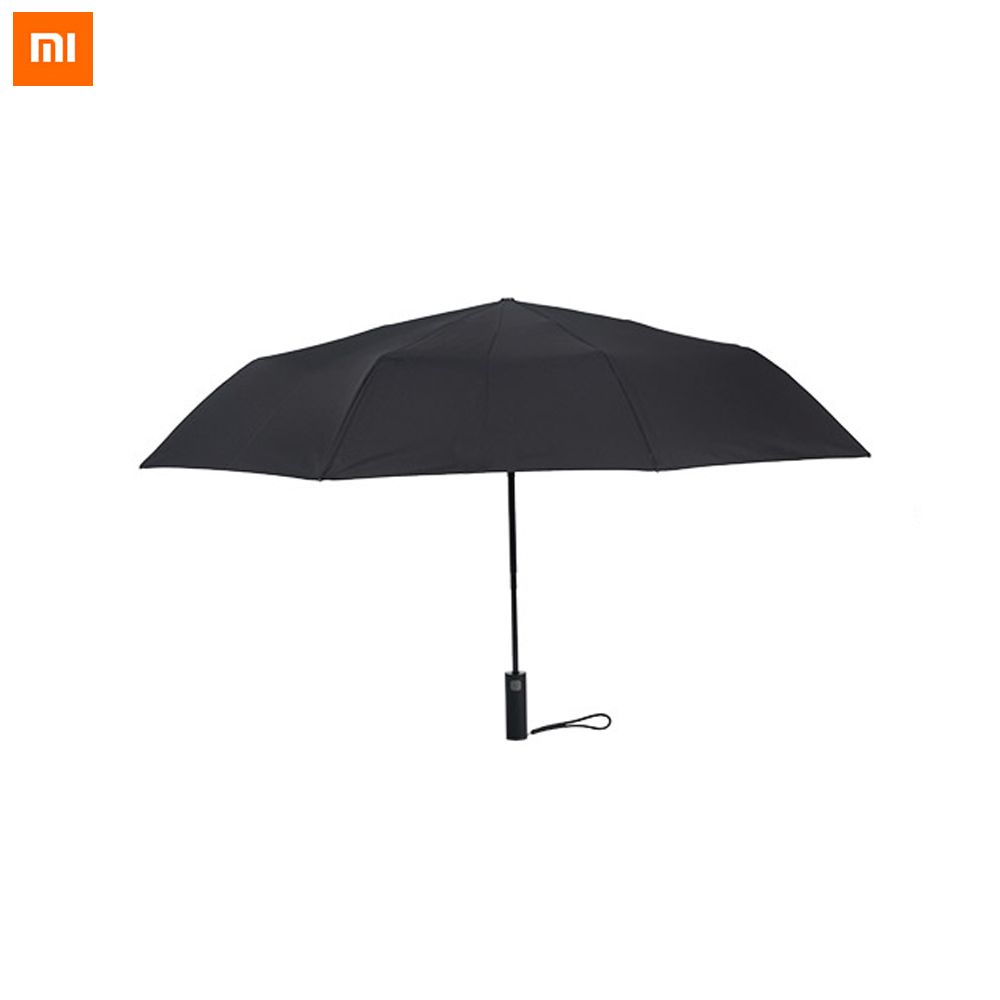Original Xiaomi Mijia Sunny Rainy Bumbershoot Automatic Folding And Turn on Windproof Waterproof UV Aluminum