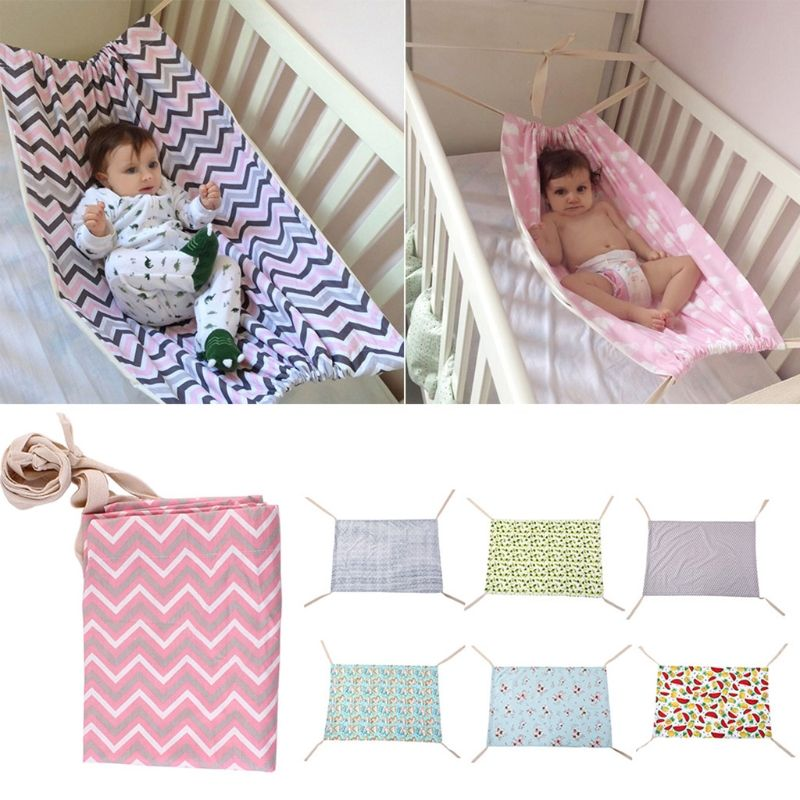 Baby Rocking chair Infant squat seat kids swing Baby Hammock Home Outdoor Detachable Portable Comfortable Bed Kit Infant Hammock