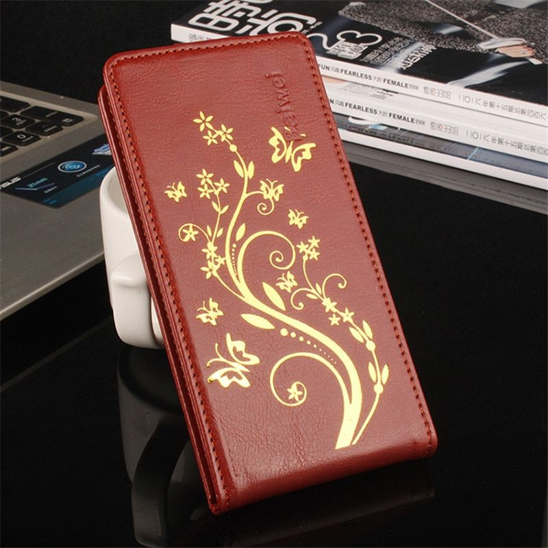 For Lenovo S850 S 850 Vertical Flip Cover Open Down/up Back Cover filp leather case For Lenovo S850 Protective SKin