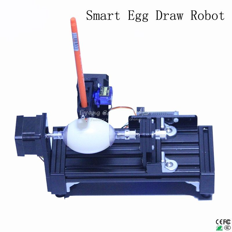 LY normal size eggdraw eggbot Egg-drawing robot draw machine Spheres drawing machine drawing on egg and ball
