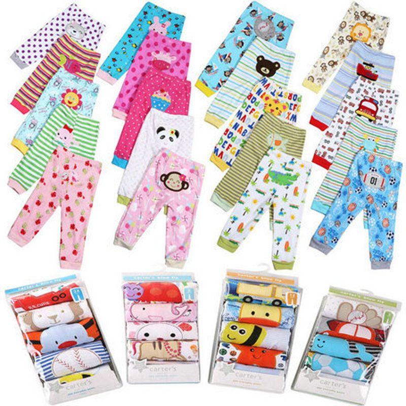 PP Pantalon 3/4/5 Pièces Un Lot Bébé Enfant Usure Busha Bébé Pantalon de Bande Dessinée Garçon Fille En Bas Âge Infantile Vêtements Coton pantalon